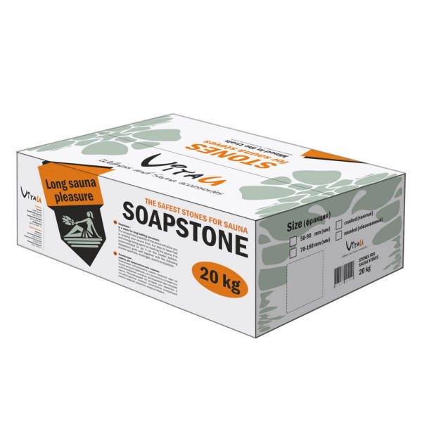 To buy soapstone of Talc-Magnesite for Electric Sauna Heaters, 20 kg | Vitau