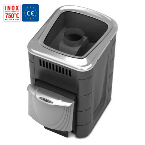 To buy compact 2013 Inox anthracite, steel door, short channel | Vitau Shop